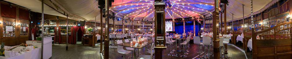 Das Spiegelzelt ist eine besondere Berliner Event Location