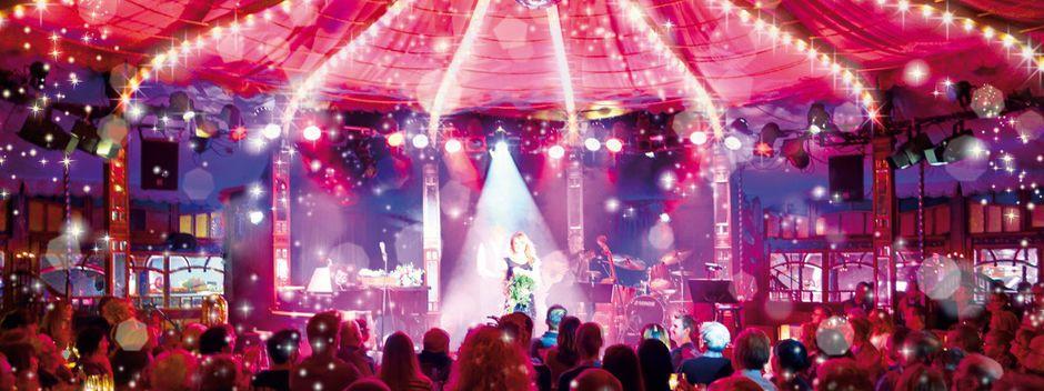Eine Bühne für exklusive Events in Berlin mit einer besonderen Bühne